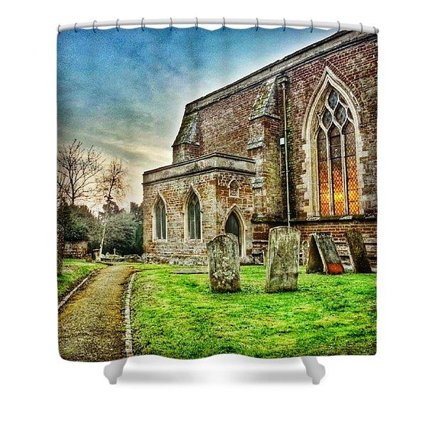 Churchyard Shower Curtain