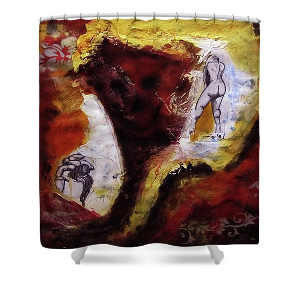 Ciclos Shower Curtain