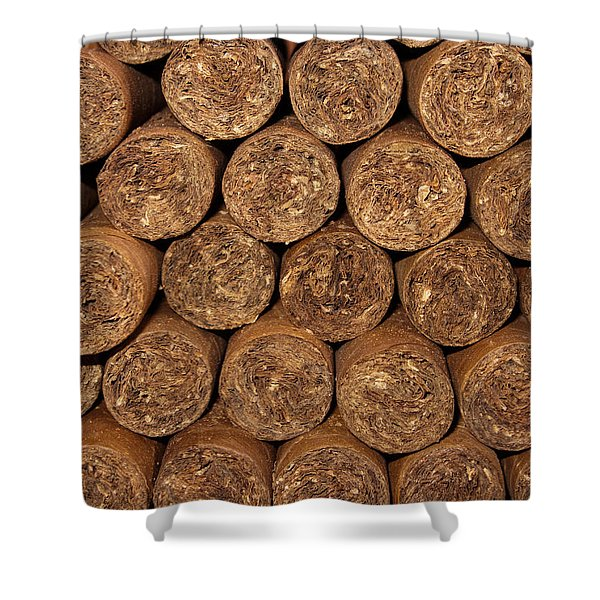 Cigars 262 Shower Curtain