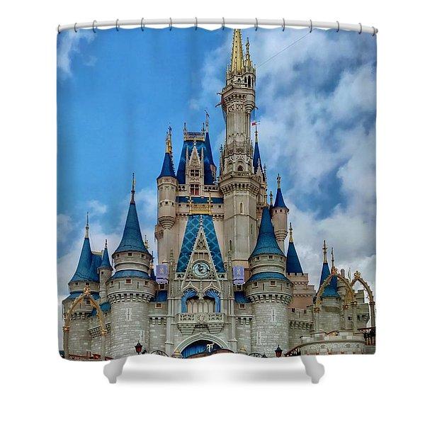 Cinderella Castle Shower Curtain