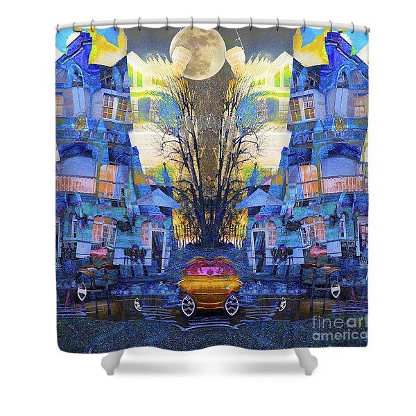 Cinderella's Coach Shower Curtain