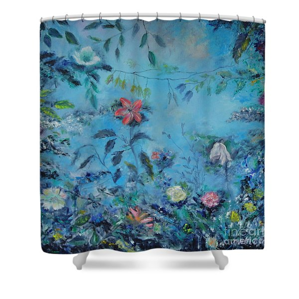 Cinderellas Garden Shower Curtain