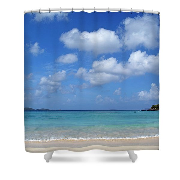 Cinnamon Bay 6 Shower Curtain