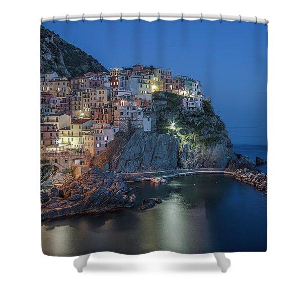 Cinque Terre - Manarola Shower Curtain