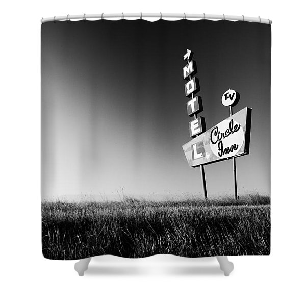 Circle Inn Shower Curtain