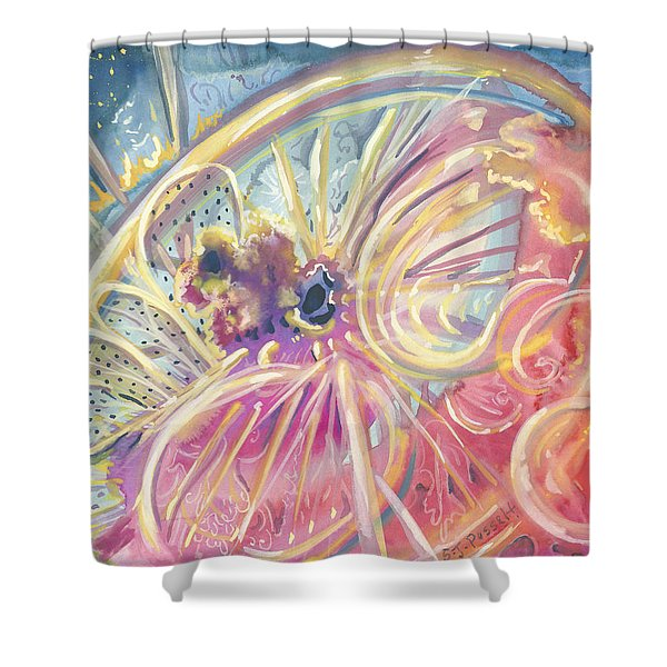 Circlewheel Of Life Shower Curtain