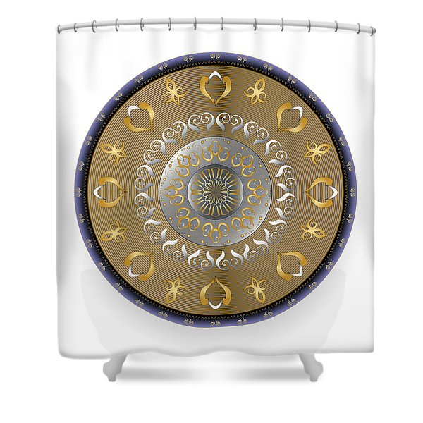 Circulosity No 2916 Shower Curtain