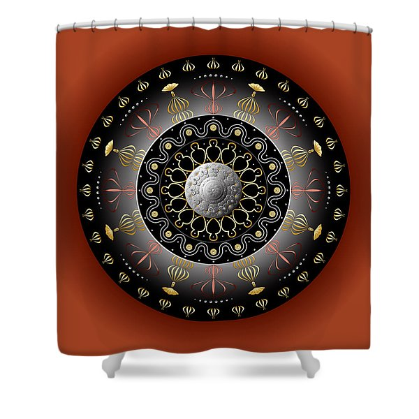 Circulosity No 2928 Shower Curtain