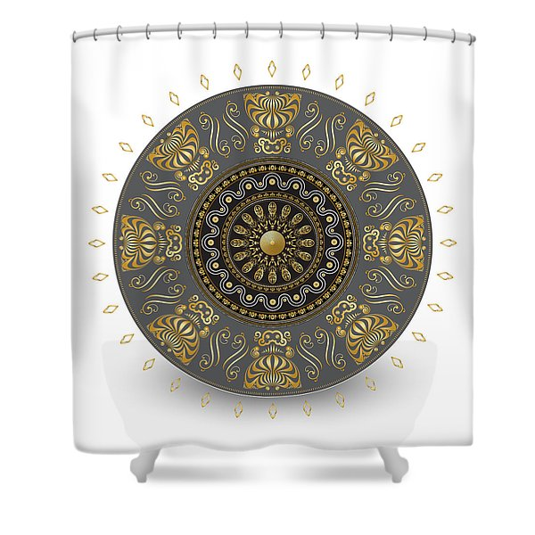 Circulosity No 3014 Shower Curtain