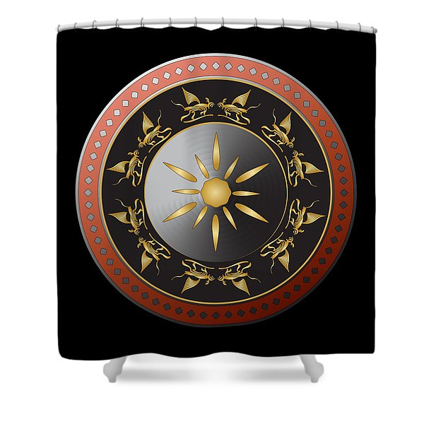 Circulosity No 3015 Shower Curtain