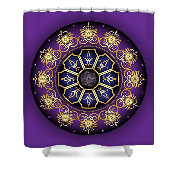 Circulosity No 3030 Shower Curtain