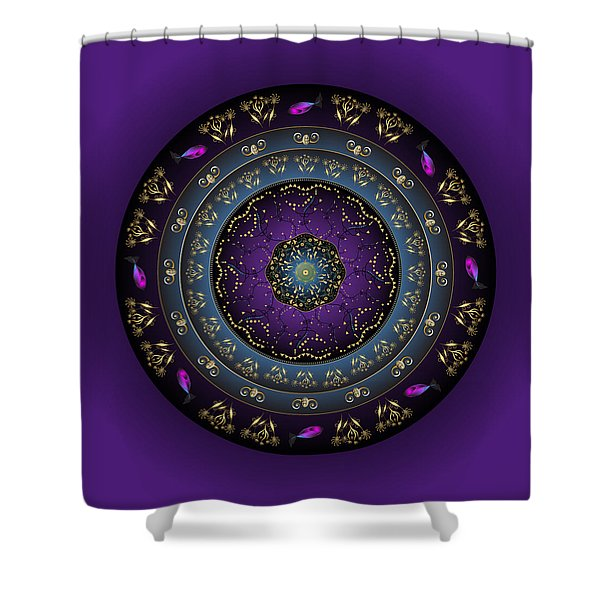 Circulosity No 3159 Shower Curtain