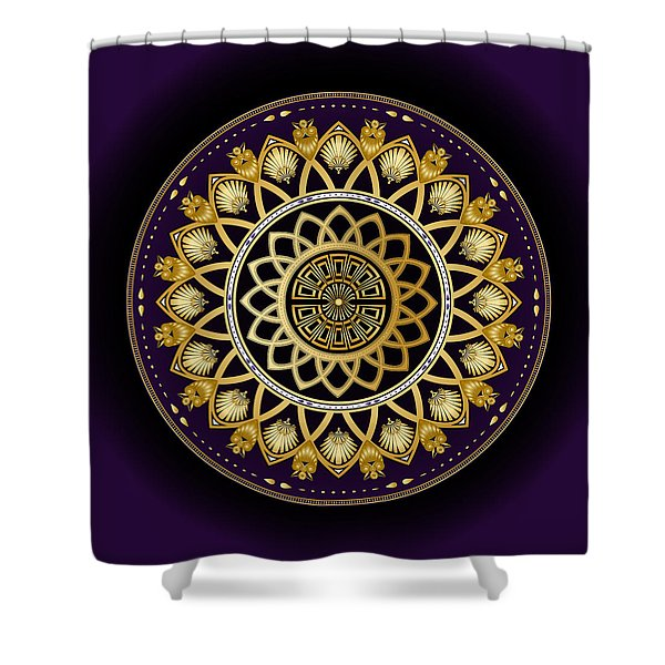 Circulosity No 3258 Shower Curtain