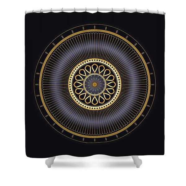 Circulosity No 3272 Shower Curtain