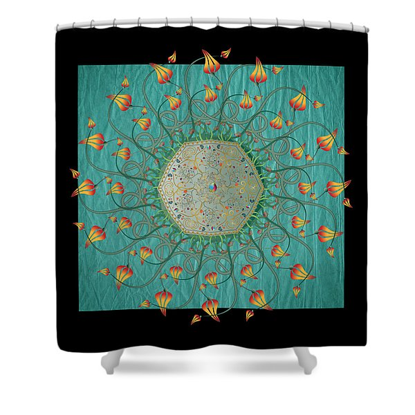 Circulosity No 3274 Shower Curtain