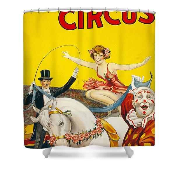 Circus, Gentry Bros., C1930.  Shower Curtain