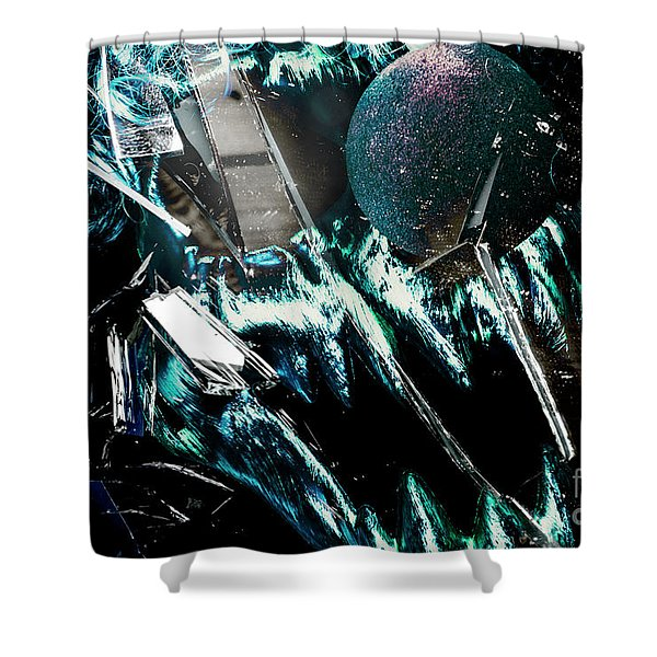 Circus House Of Mirrors Shower Curtain