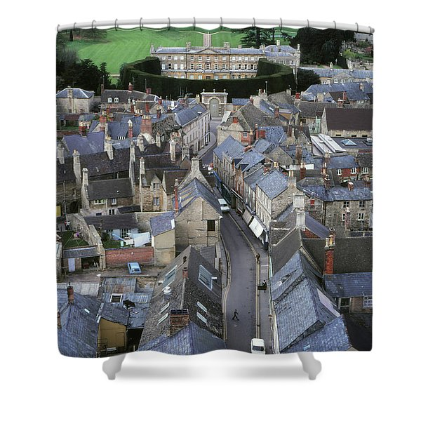 Cirencester, England Shower Curtain