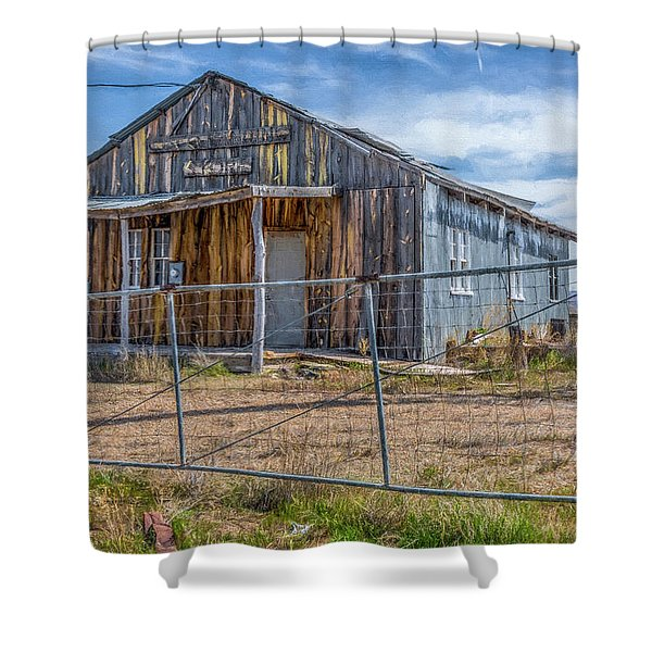 Cisco Landing Store Shower Curtain
