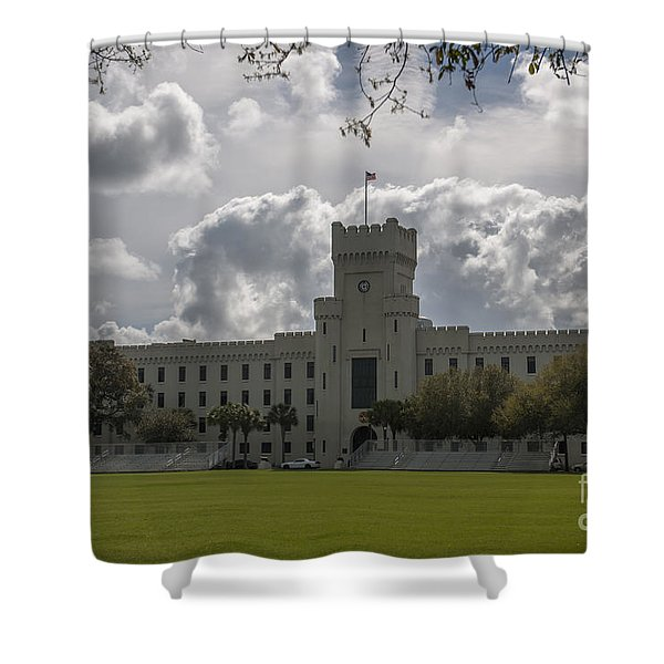 Citadel Military College Shower Curtain