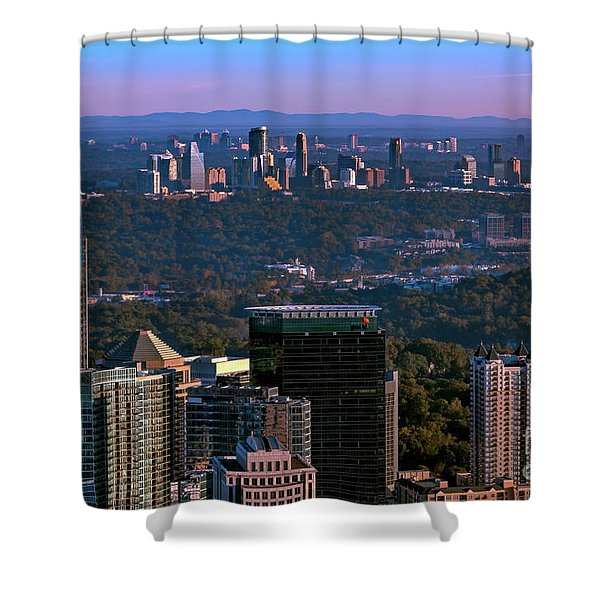 Cities Of Atlanta Shower Curtain