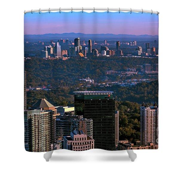 Cities Of Atlanta Shower Curtain