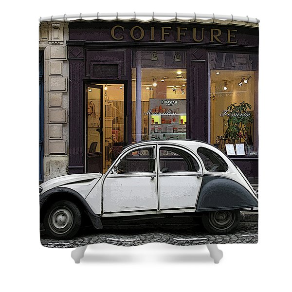 Citroen 2cv Shower Curtain