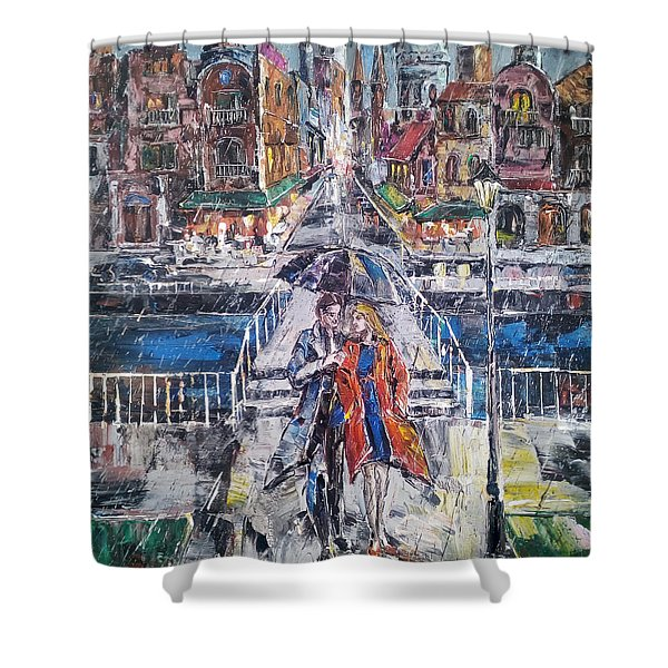 City For Two Shower Curtain