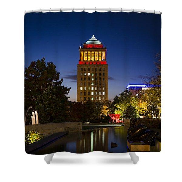 City Garden Shower Curtain
