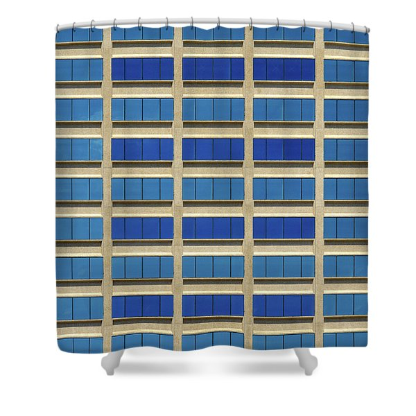 City Grid Shower Curtain
