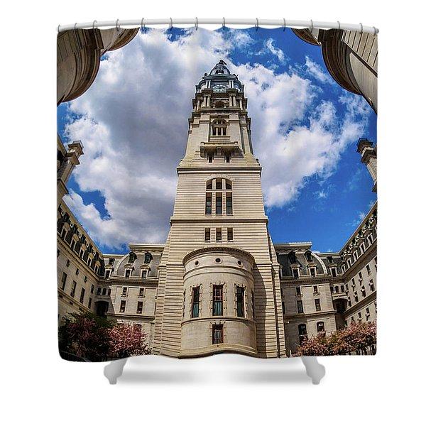 City-hall-philadelphia-photo Shower Curtain