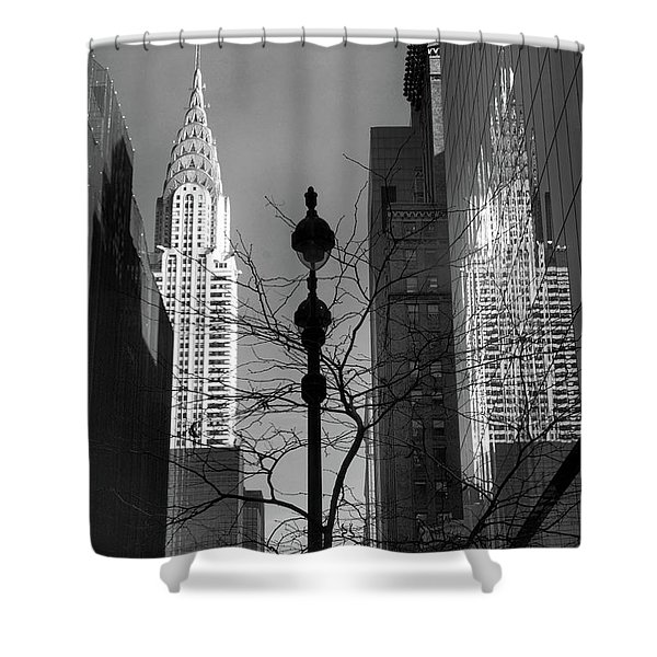 Chrysler Reflections Shower Curtain