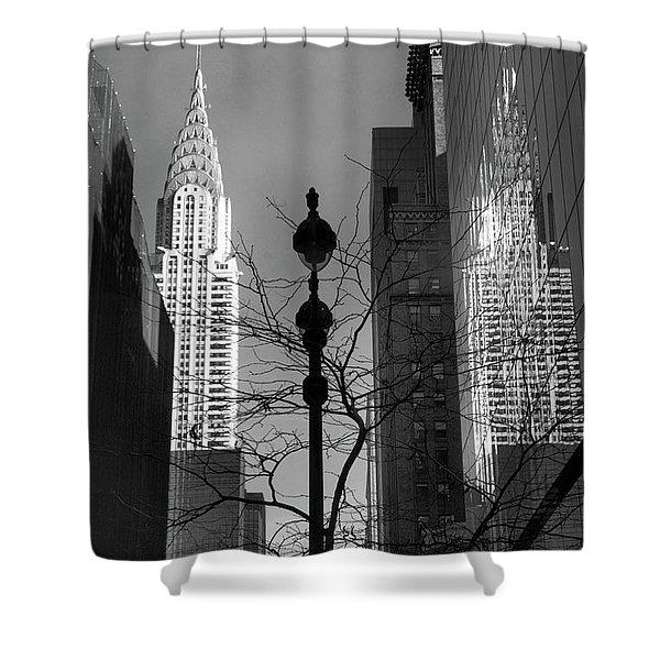 Chrysler Reflections Shower Curtain