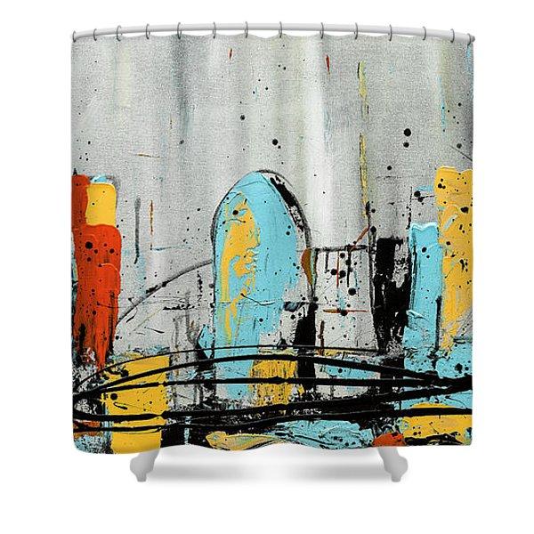 City Limits Shower Curtain