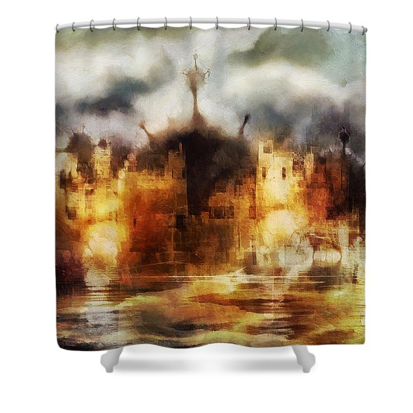 City Of Dreams Shower Curtain