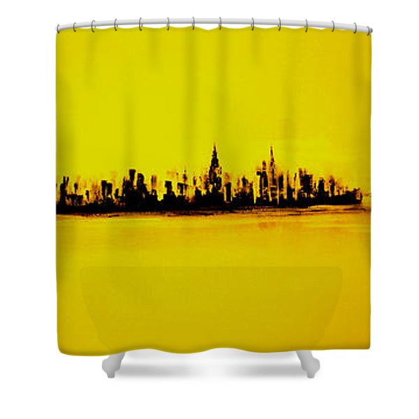 City Of Gold Shower Curtain