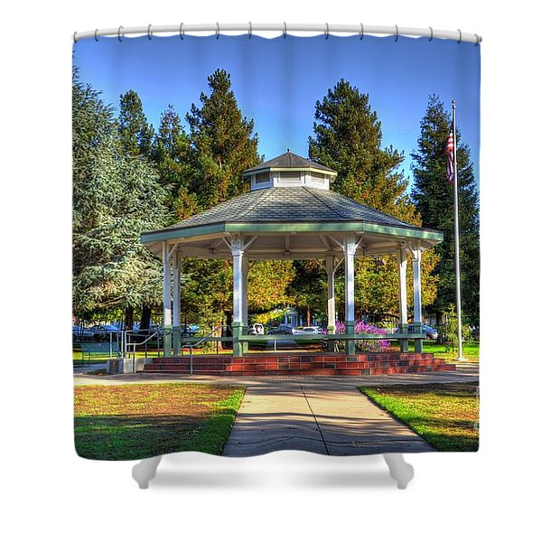 City Park Shower Curtain