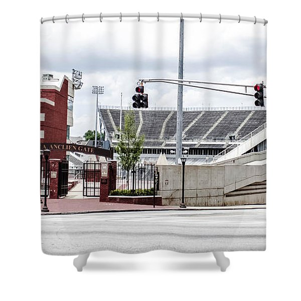 City Stadium Shower Curtain