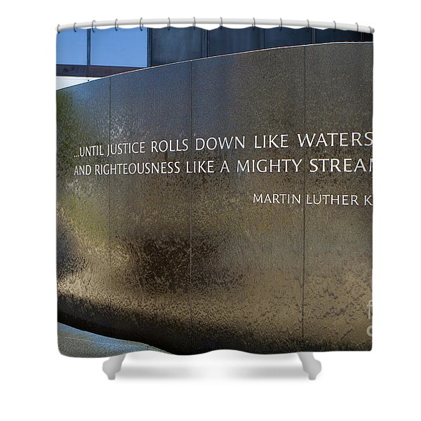 Civil Rights Memorial Shower Curtain
