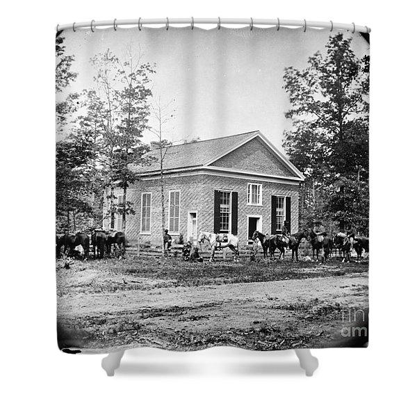 Civil War: Bethel Church Shower Curtain