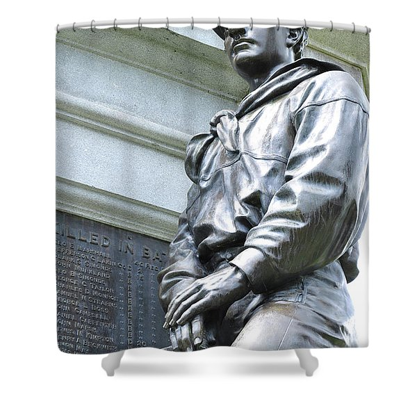 Civil War Memorial - Fitchburg, Ma Shower Curtain