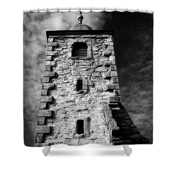 Clackmannan Tollbooth Tower Shower Curtain