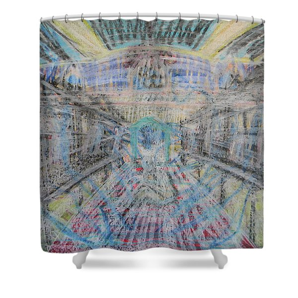 Claiming Of The Soul Shower Curtain