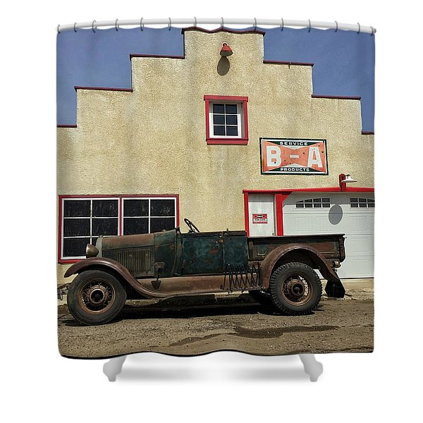 Clampet Shower Curtain