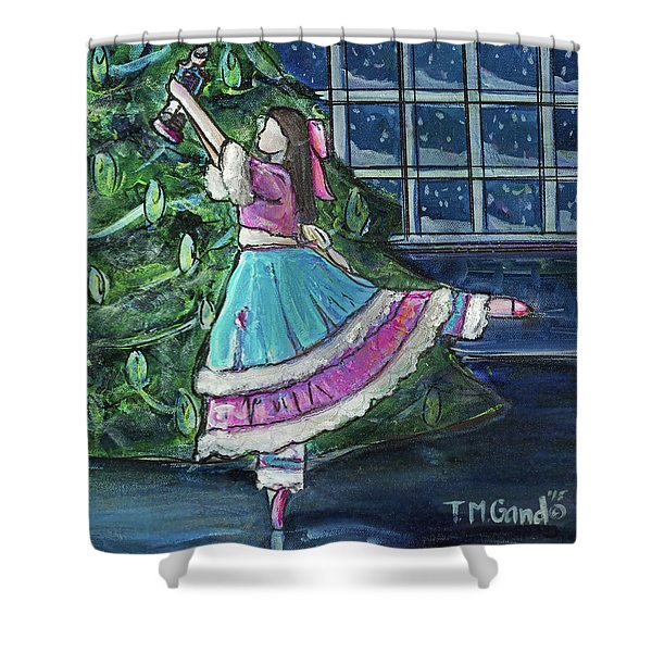 Clara II Shower Curtain