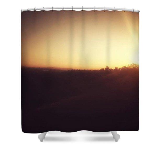 Claremont Sunset Shower Curtain