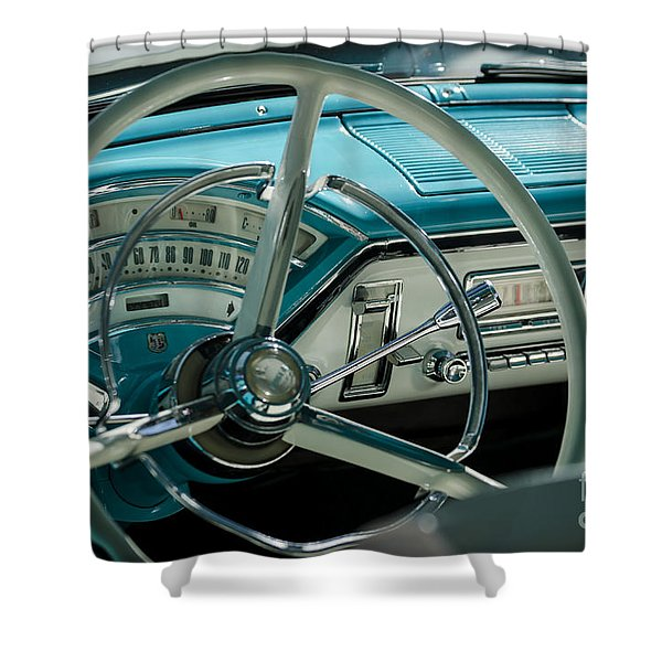 Shower Curtain featuring the photograph Classic by Andrea Silies