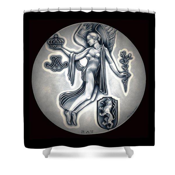 Classic Belgium Royal Crown Shower Curtain