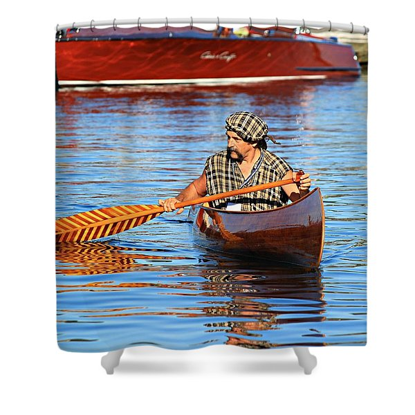 Classic Canoe Shower Curtain