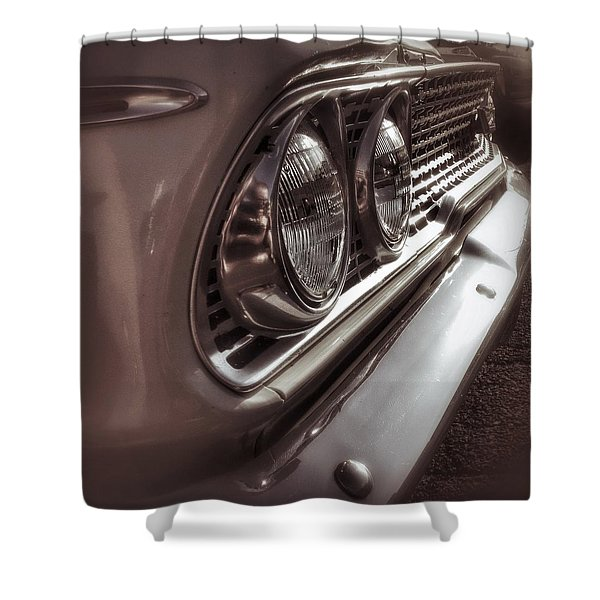 Classic Car 5 Shower Curtain